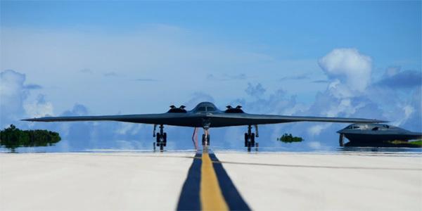 B-2,máy bay ném bom tàng hình,bóng ma B-2,Mỹ