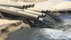 Bình Thuận thông tin vụ nước đen như hắc ín xả ra biển