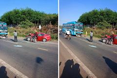 Dân mạng xáo động vì một clip tai nạn giao thông