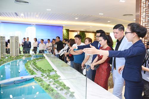 Đất Xanh 'mở hàng' khai trương căn hộ mẫu Gem Riverside