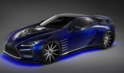 Lexus LC 500 gây ấn tượng mạnh trong phim Black Panther