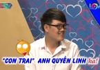 Cát Tường tiết lộ 'con trai lớn' của Quyền Linh ở Bạn muốn hẹn hò