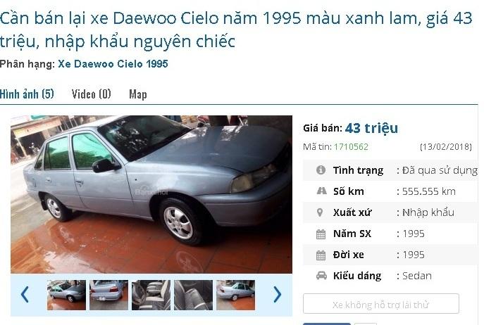 Top xe ô tô cũ chính hãng có mức giá rẻ không tưởng: Chỉ từ 40 triệu