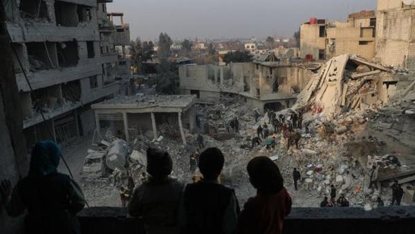 Syria,chiến sự,nội chiến,địa ngục trần gian,mưa bom bão đạn,Đông Ghouta