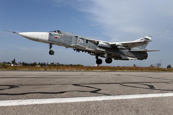 Những chiến cơ được Putin điều tới Syria?
