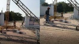 Bị điện giật ở sân vận động, 1 người chết, 2 người trọng thương