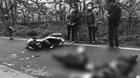 Hà Nội: Xe máy đối đầu container, 1 người chết tại chỗ