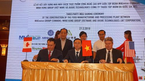Nhà máy SX thực phẩm công nghệ cao HPP tại Việt Nam