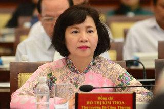 Cựu Thứ trưởng Kim Thoa rút lui: Ông lớn đuối sức, xuống đáy 4 năm