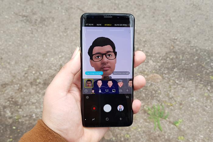 Trải nghiệm Emoji trên Galaxy S9, xem Samsung bắt chước Apple