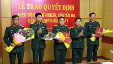 Điều động, bổ nhiệm nhân sự Quân khu 2