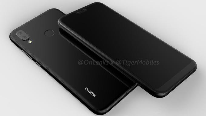 Lộ ảnh 'bản sao iPhone X' của Huawei dùng camera kép