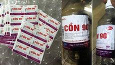Cảnh báo cồn y tế độc hại bán bán tràn lan