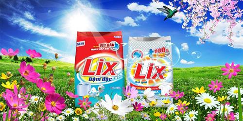 Bột giặt LIX - hơn 40 năm gắn bó người Việt