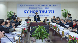 Kết quả rà soát GS, PGS: Chờ Thủ tướng quyết định