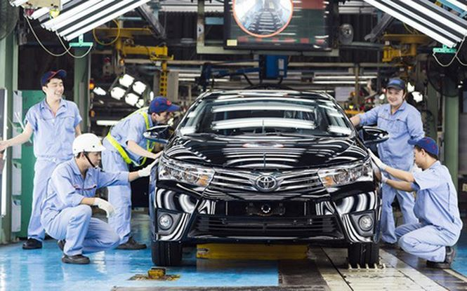 Nghị định 116,công nghiệp ô tô,ô tô nhập khẩu