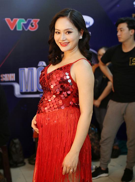 Mang bầu 6 tháng, diễn viên Lan Phương chưa có kế hoạch cưới