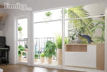 Ngôi nhà với thiết kế đặc biệt khiến bạn yêu đời ngay từ khi mới bước chân vào