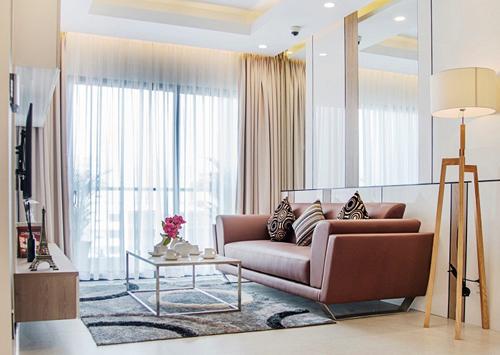 Không gian tinh tế trong căn hộ 2 phòng ngủ New City