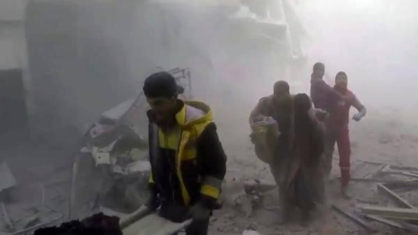 'Địa ngục trần gian Syria' vẫn hứng mưa bom bất chấp lệnh của Putin
