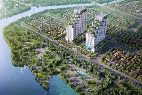 Cất nóc căn hộ cao cấp ngàn tỷ tại Q.7 TP.HCM