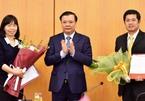 Bộ Tài chính, Tài nguyên & Môi trường bổ nhiệm nhân sự chủ chốt