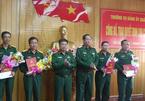 Công bố quyết định nghỉ hưu cho 4 Đại tá Bộ Quốc phòng