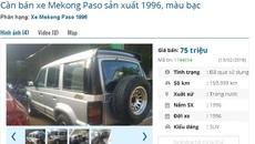 Loạt ô tô cũ chính hãng giá 75 triệu đang rao bán ở chợ Việt