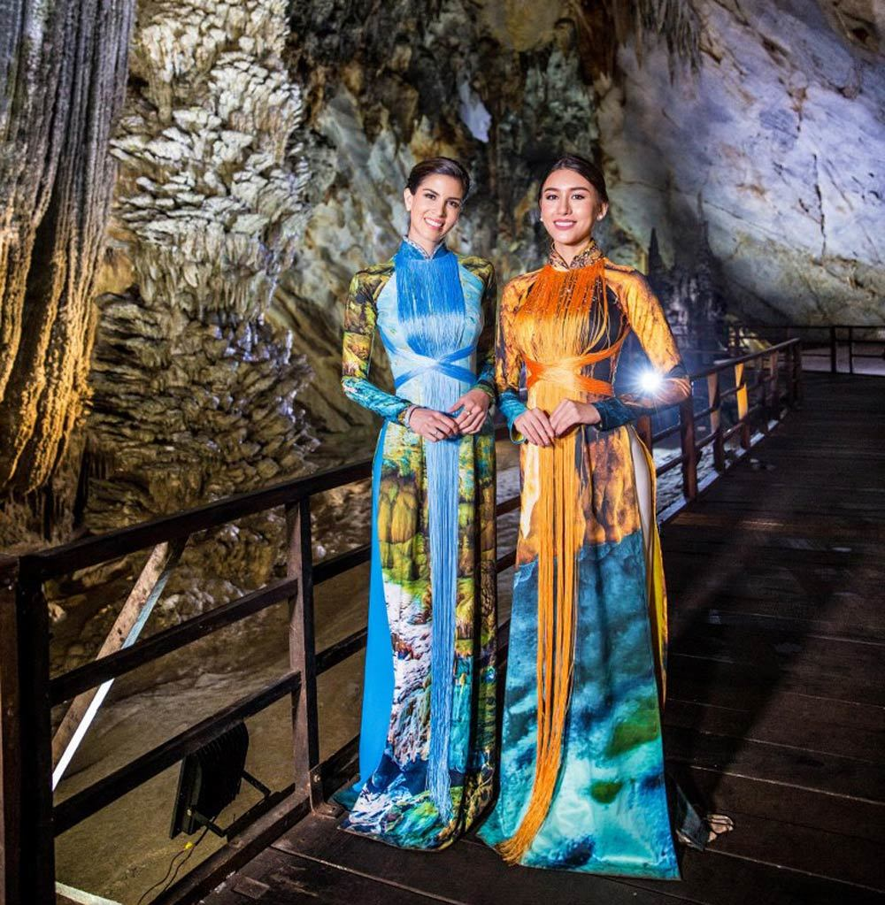 Lễ hội áo dài,NTK Nhật Dũng,Hoa hậu thế giới