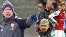 Cầu thủ Arsenal mất niềm tin, Wenger sắp bay ghế