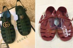 Xôn xao mẫu sandal Gucci mới 'giống hệt đôi dép rọ của Việt Nam'