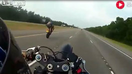 Ham hố chạy xe bốc đầu, biker lĩnh trái đắng