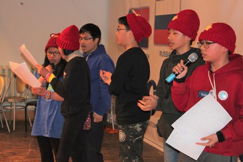 Thiếu nhi Việt Nam đến Nga dự Hội trại mùa đông