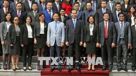 Chủ tịch nước Trần Đại Quang gặp mặt các tham tán thương mại