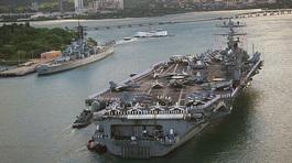 Tại Đà Nẵng, nhóm tàu sân bay Mỹ có hoạt động gì?