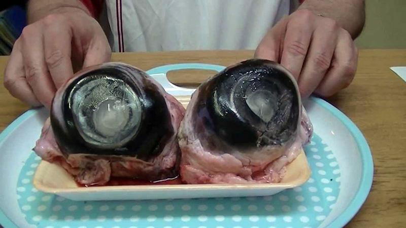 Đặc sản mắt cá ngừ đại dương cực dị: Không can đảm đố dám ăn