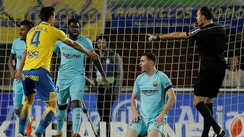 Las Palmas 1-1 Barca