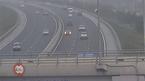 Ô tô ngược chiều vun vút trên cao tốc Hà Nội - Hải Phòng