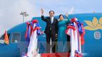 Chủ tịch nước cùng Phu nhân lên đường đi thăm Ấn Độ