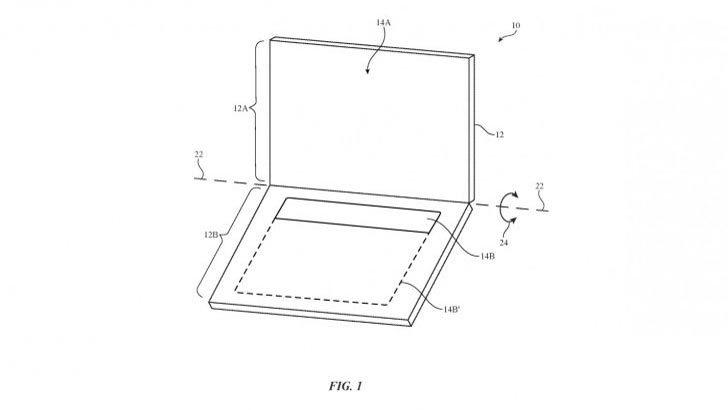 Apple đăng ký sáng chế laptop màn hình kép, chỉ dùng phím ảo