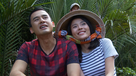 Khan gia bat ngo gap be Xuan Mai dong phim truyen hinh