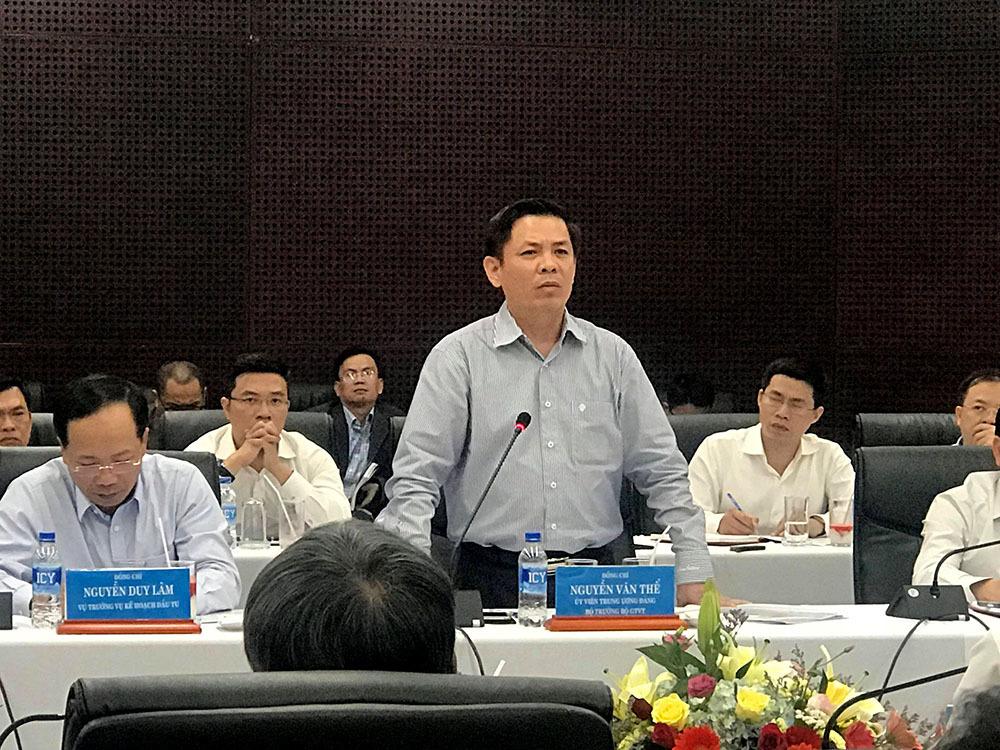 Bộ GTVT,Bí thư Trương Quang Nghĩa,Đà Nẵng,Bộ trưởng Nguyễn Văn Thể
