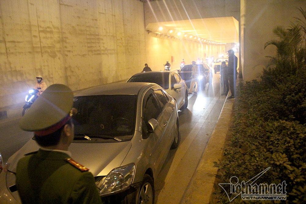 tai nạn,tai nạn giao thông,tai nạn liên hoàn,hầm Thanh Xuân,Hà Nội