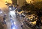 Hà Nội: 4 xế hộp đâm nhau liên hoàn trong hầm Thanh Xuân