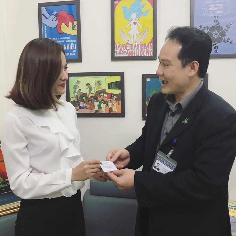 MC Mai Trang VTV xin hiến toàn bộ cơ thể cho y học