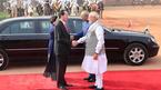 Lễ đón Chủ tịch nước Trần Đại Quang tại Ấn Độ