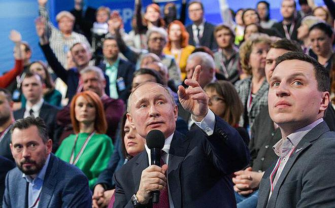 Putin,nước Nga,thông điệp liên bang