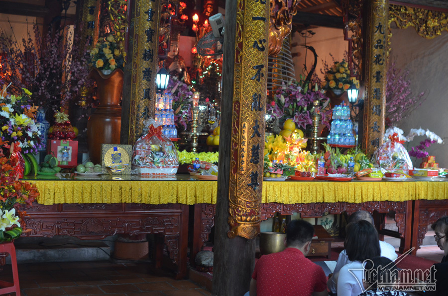 Kỳ lạ ngôi chùa không có hòm công đức