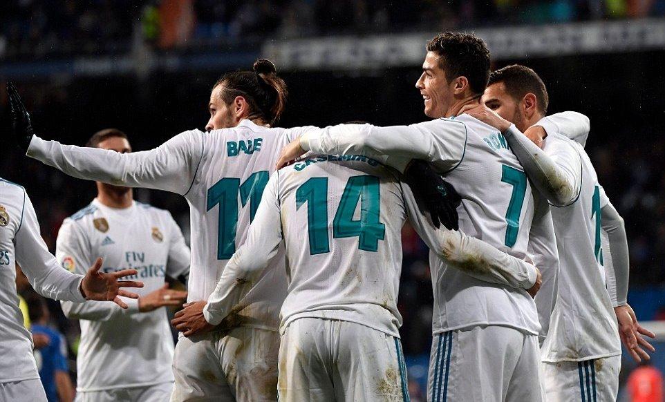 Cristiano Ronaldo,Real Madrid,Gatafe