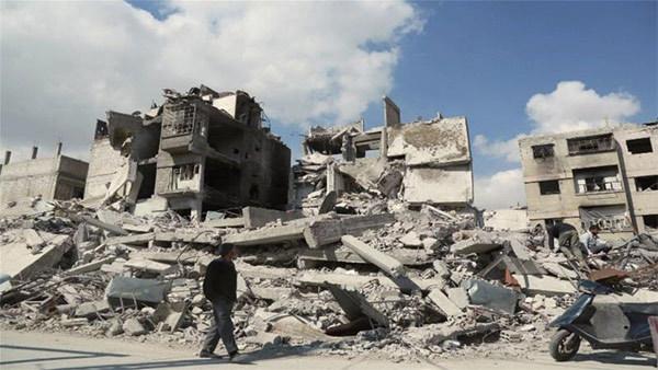 'Địa ngục trần gian' Syria tiếp tục hứng bom đạn